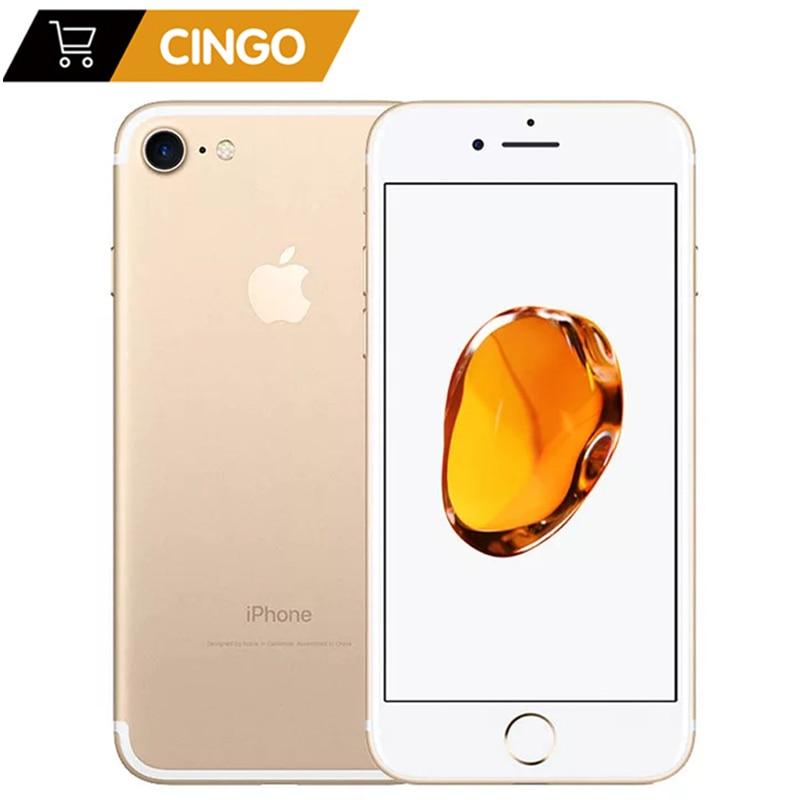 Get unlocked original used Apple iPhone 7 iphone7 2GB RAM 32/128 / 256GB ROM 4.7″ 99 new  12.0MP camera quad-core 4K video LTE