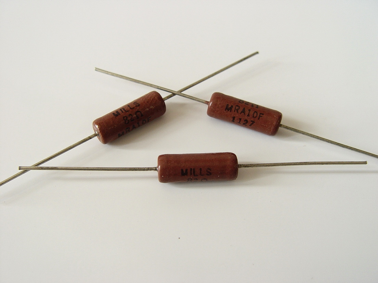 4pcs/lot American origin Mills MRA-10W series aerospace-grade products non-inductive resistance audio resistance free shipping