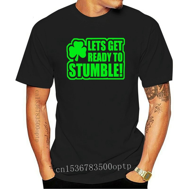 New St Patricks Day Ireland Funny Mens Adult T Shirt