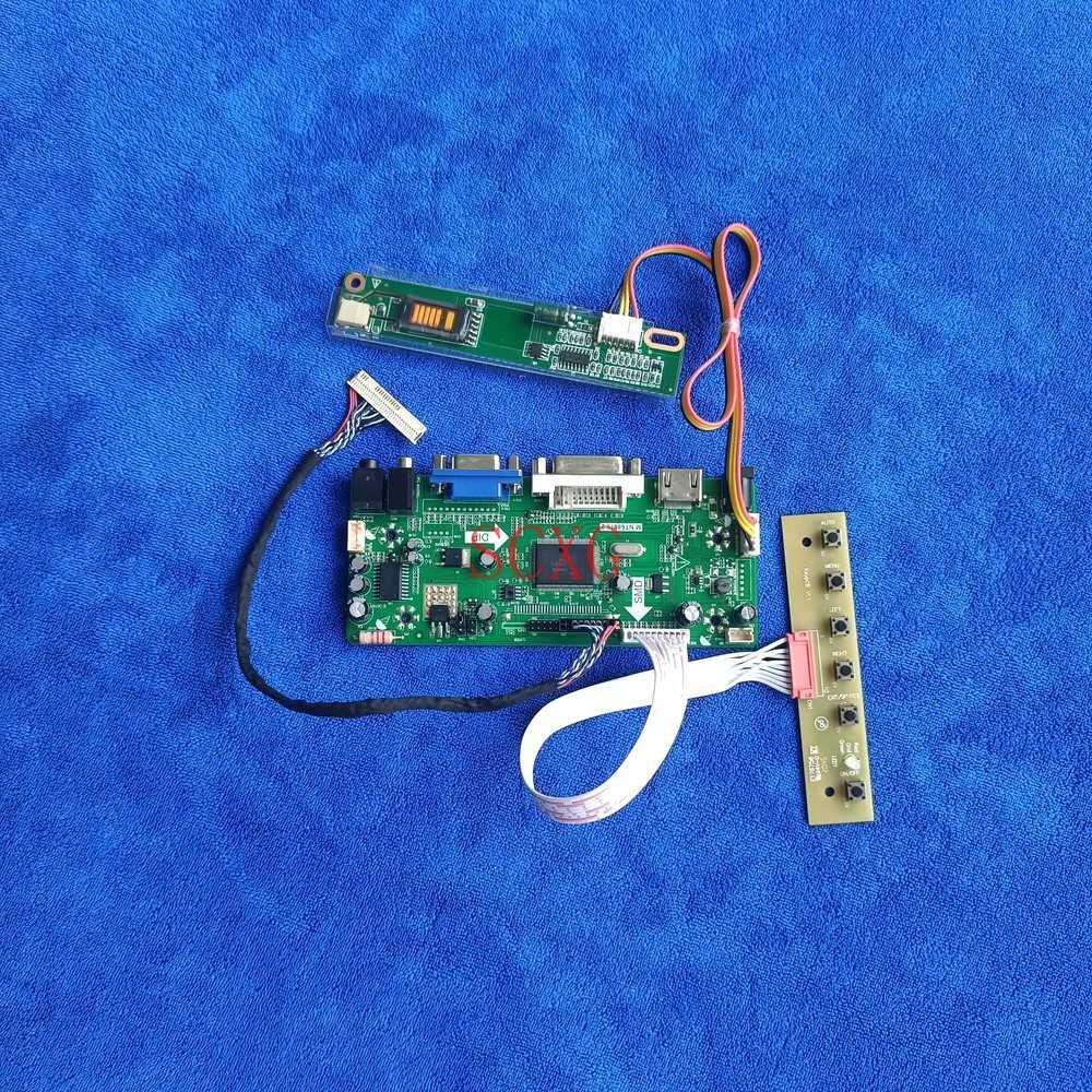 عرض M.NT68676 محرك مجموعة اللوحة 1CCFL HDMI-متوافق VGA DVI ل LP154WX4-TLC1/TLC3/TLCA/TLD2/TLE1/TLF1 30 دبوس LVDS 1280*800