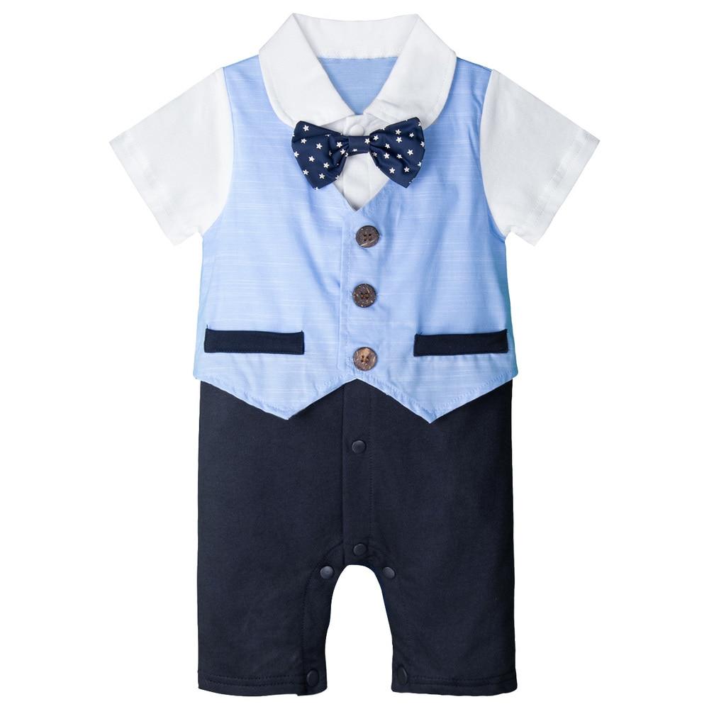 Conjunto de trajes de esmoquin para bebés y niños, conjunto de traje de caballero para niños, ropa Formal para boda, traje de bautismo para fiesta de cumpleaños