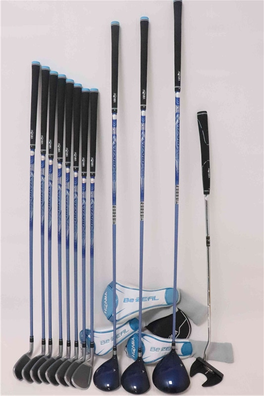 Women's Golf clubs set HONMA Golf Club HONMA BEZEAL 535 Golf Complete Set with wood putter Head Cover Graphite Free Shipping