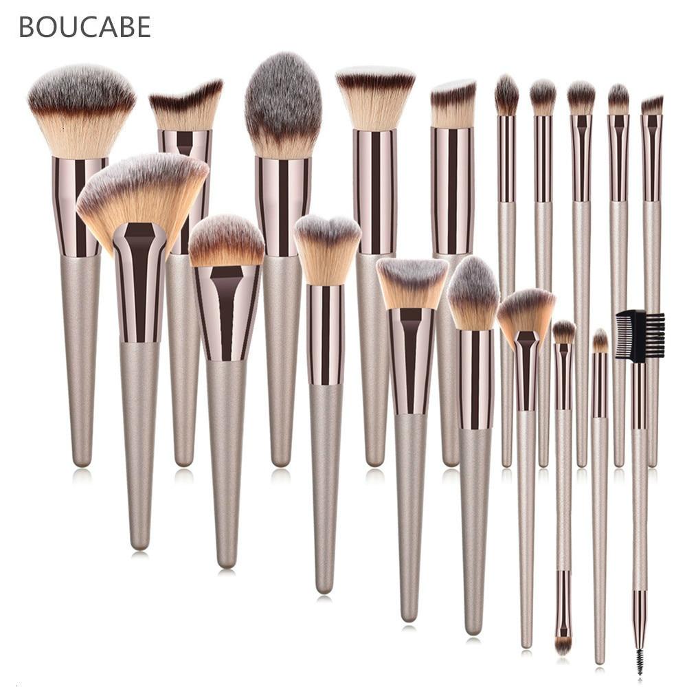 Make Up Brushes High Quality Makeup Brush For Powder Foundation Cosmetic Eyebrow Eyeshadow Brush Set