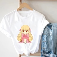 graphic t shirts inmei kawaii fun top tee girl harajuku ullzang t shirt ladies korean t shirt 90s graphic cute aesthetic t shirt
