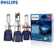 Philips LED H4 H7 H8 H11 H16 9005, 9006 de 9012 HB3 HB4 H1R2 Ultinon esencial LED coche 6000K blanco faro bombillas Auto niebla lámparas 2X