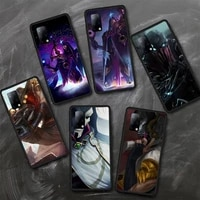 lol game ezreal khada jhin phone case tpu for samsung s6 s7 s8 s9 s10 plus s20 s21 s30ultrs fundas cover