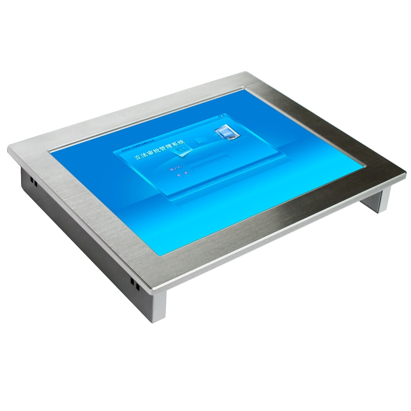 15 inch embedded Industrial tablet PC With wifi 2*lan 4*com ports all in one pc Fanless IPC computer