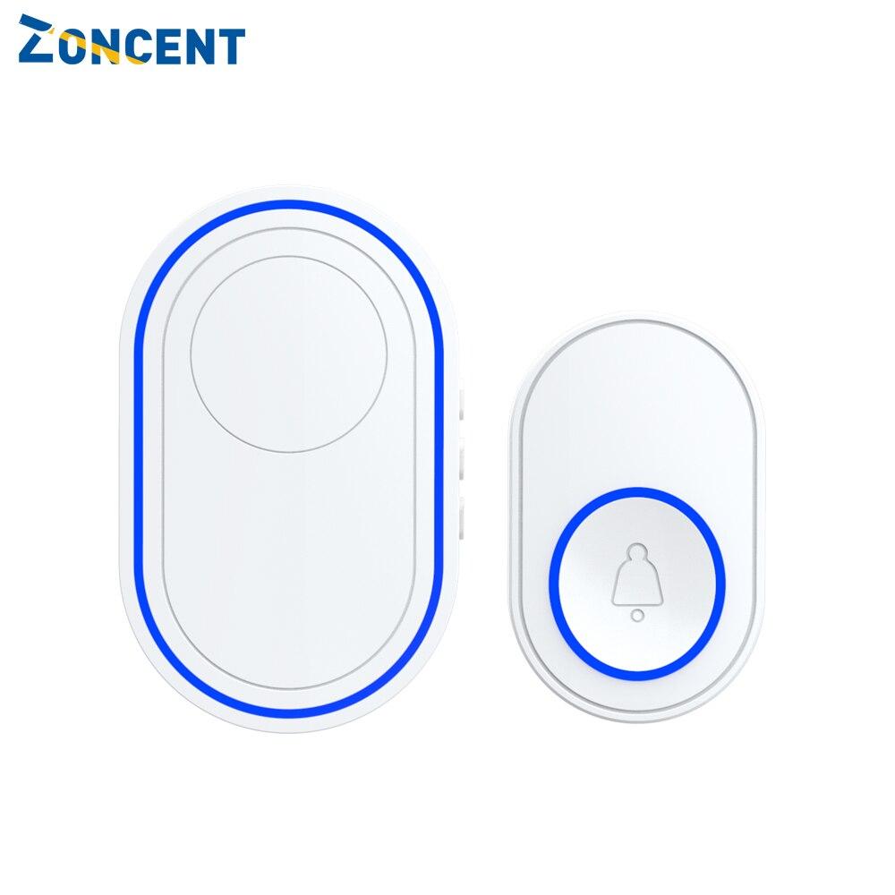 Smart Home Wireless Doorbell Intelligent Waterproof 300M Remote EU UK US Plug Optional 58 Songs 5 Le