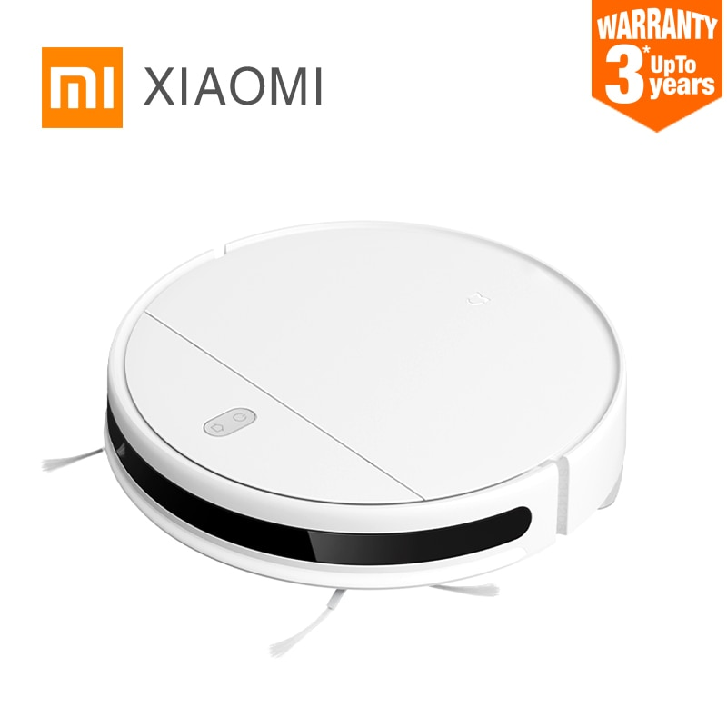 New XIAOMI MIJIA Mi Sweeping Mopping Robot Vacuum Cleaner G1 for home cordless Washing 2200PA cyclone Suction Smart Planned WIFI