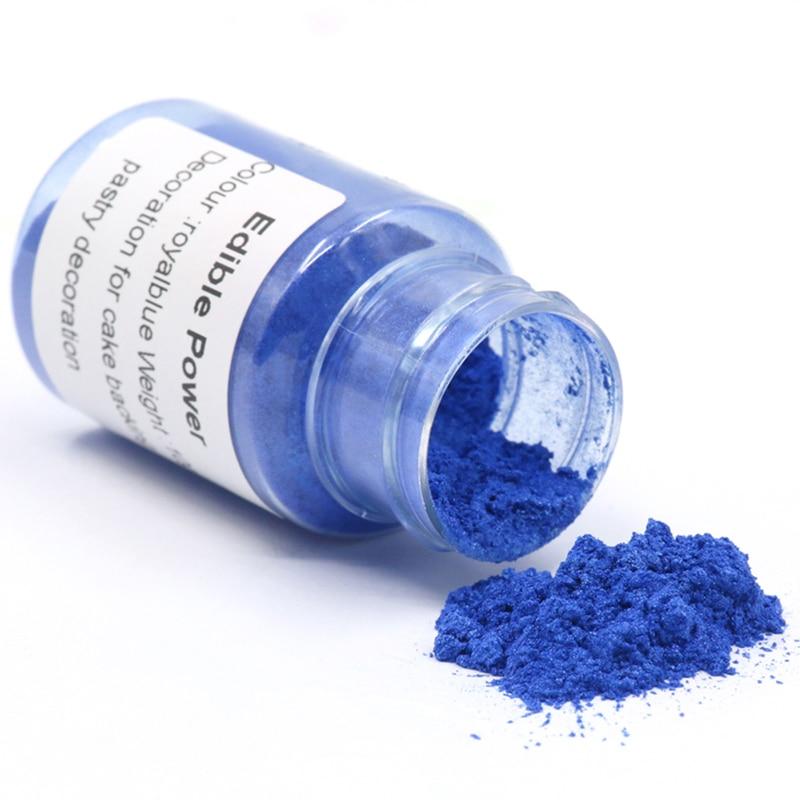 Colorante de comida en polvo Comestible, 10g, azul oscuro, para decoración de...