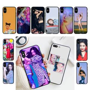 Fhnblj sunmi lee kpop menina caso de telefone para o iphone 11 8 7 6s mais x xs max 5 5S se 2020 11 12pro max iphone xr caso