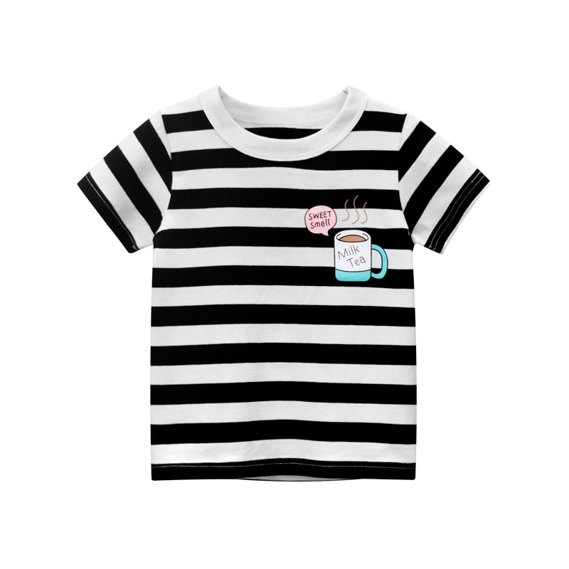 Summer Baby Tees Cotton Children's Clothes for Boys T shirts Fashion Sport Kids Clothes