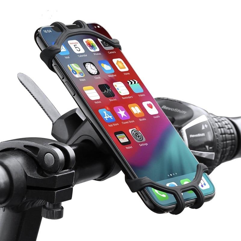 1pc novo titular do telefone da bicicleta titular do telefone móvel da motocicleta suporte celular para iphone samsung xiaomi huawei