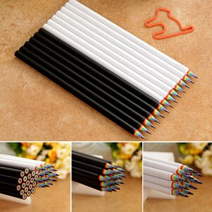12 Pcs Rainbow Pencil Set for Drawing Sketch Painting Student School Art Gift Office School Supplies Writing Pens Pencils