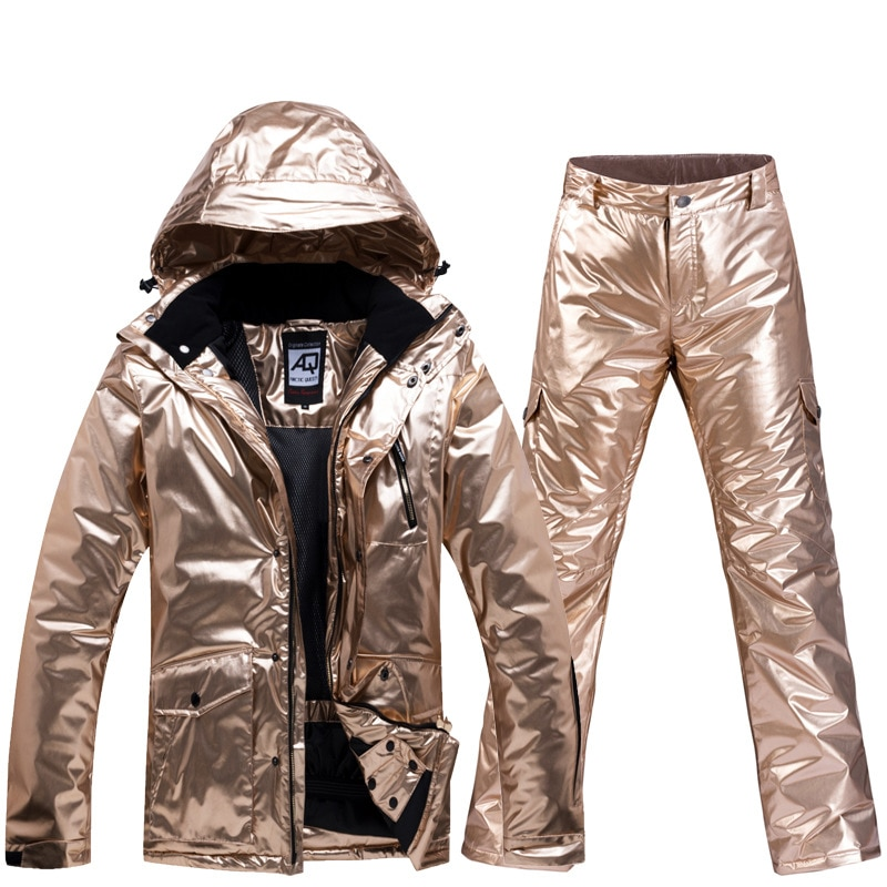 2020 Fashion Ski Suit Snowboard Jacket Men Women Waterproof Warm Windproof Couple Outdoor Sports Snow Jackets And Pants Camping