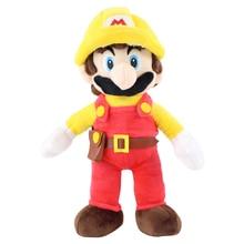 31cm High Quality Mario Bros Mario Fireman Plush Toys Soft Stuffed Dolls Toy For Kids