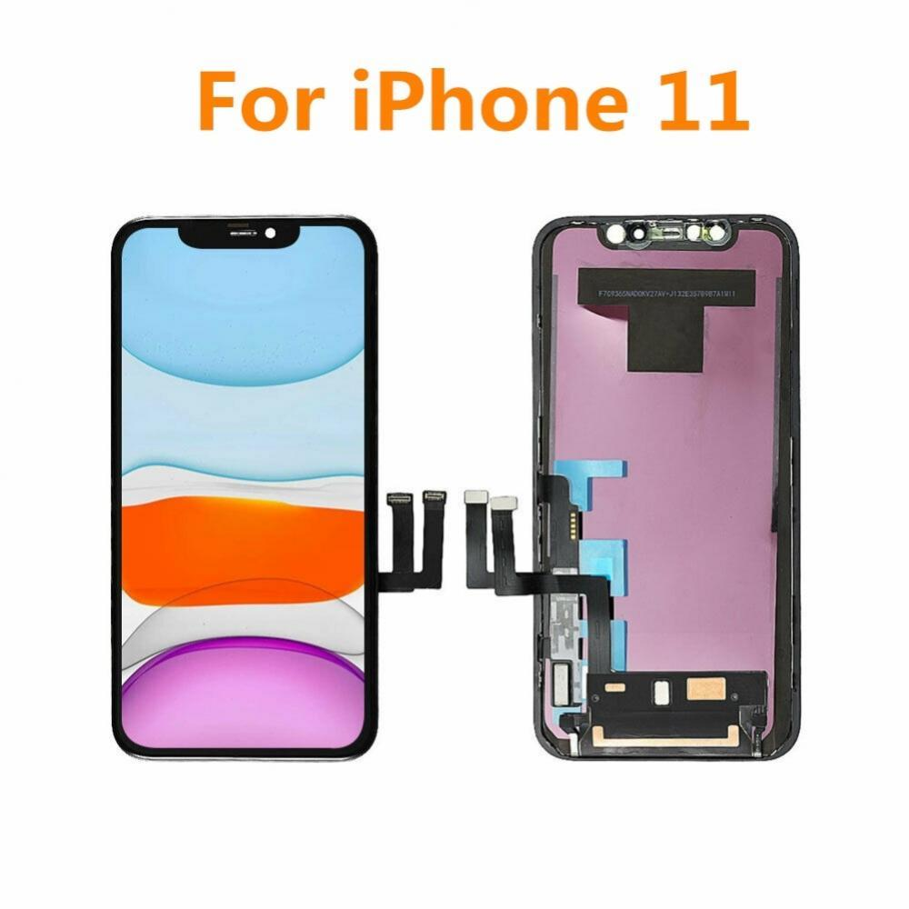 Get Grade AAA+++ For iPhone 11 Retina LCD Display With 3D Touch Screen Digitizer Assembly Replacement For iPhone11 Tool Kit Parts