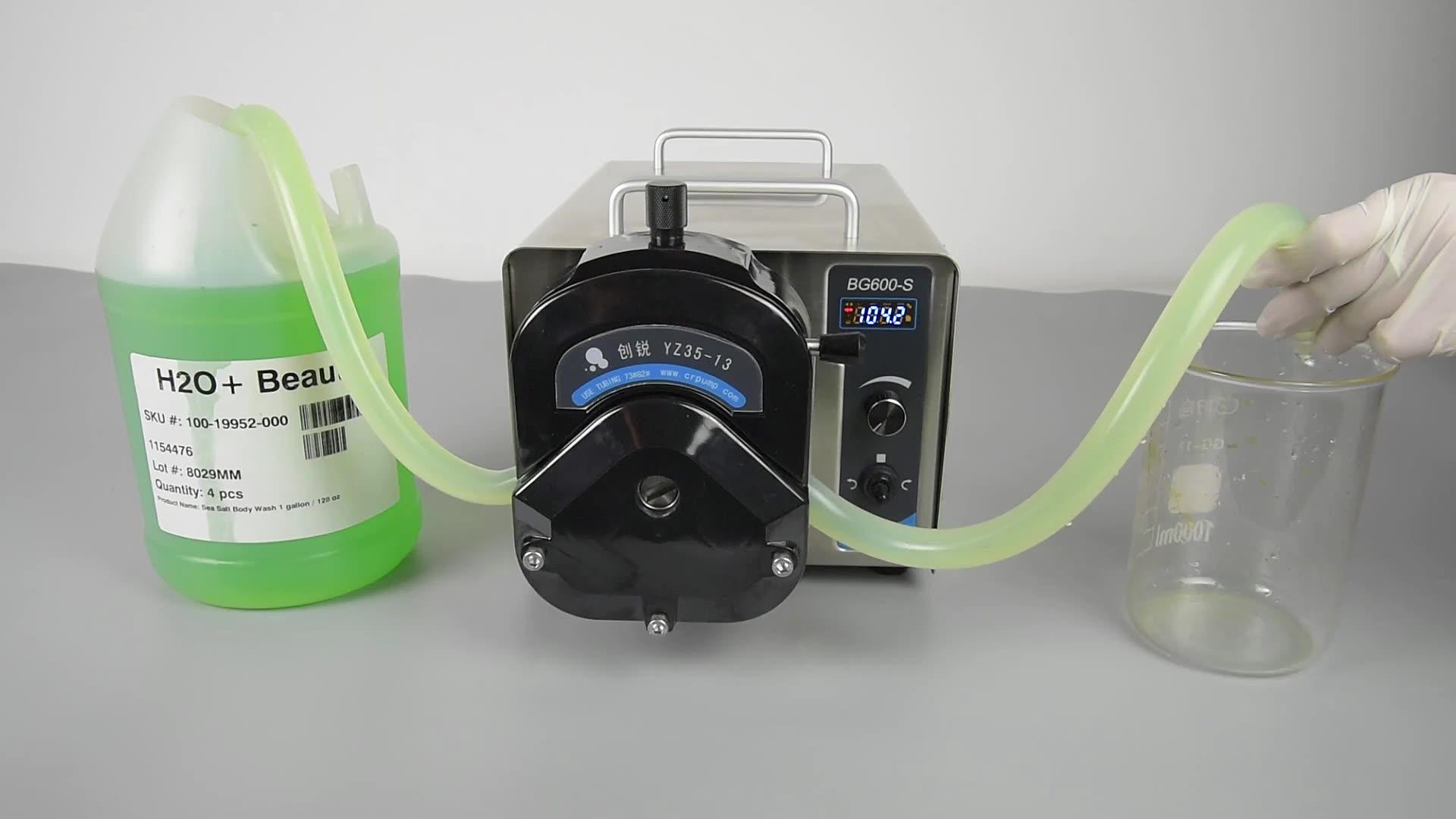 Membrane tech liquid transfer dosing peristaltic metering pump enlarge