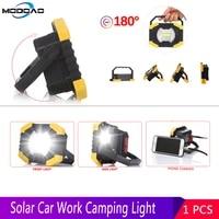 car work light led lamp workshop tool portable solar energy lights tent lantern usb rechargeable hunting camping emergency light