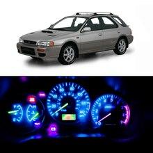 WLJH 21X Dash Light Bulbs Led Full Conversion Kit for Subaru Impreza 1999-2001 Instrument Panel Gauge Cluster Warning Indicator