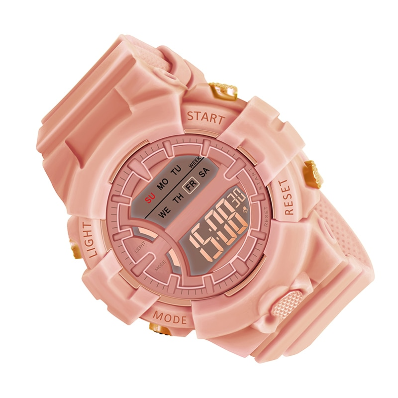 Sports Men Women Watches 10pcs Casual Digital Waterproof Watch Lover's Gift Clock Children Kid's Wristwatch Female Clock Reloj enlarge