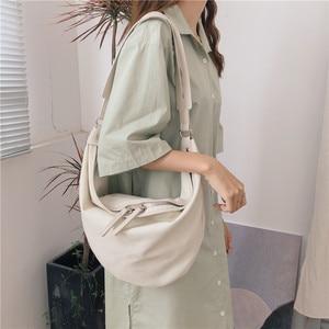 Luxury Handbags Women Canvas Bags Designer Fashion Ladies Purses And Handbags solid color Canvas Crossbody Bags For Women