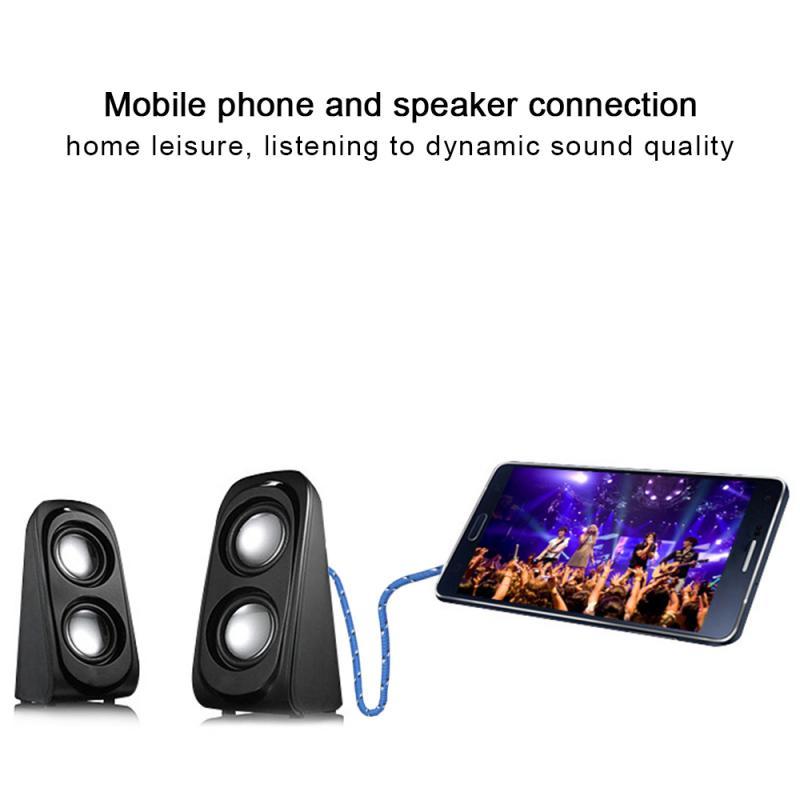 Universal 3.5mm Male To 2 Female Jack Splitter Adapter Headphone Splitter Audio Cable Lot Speaker Ac
