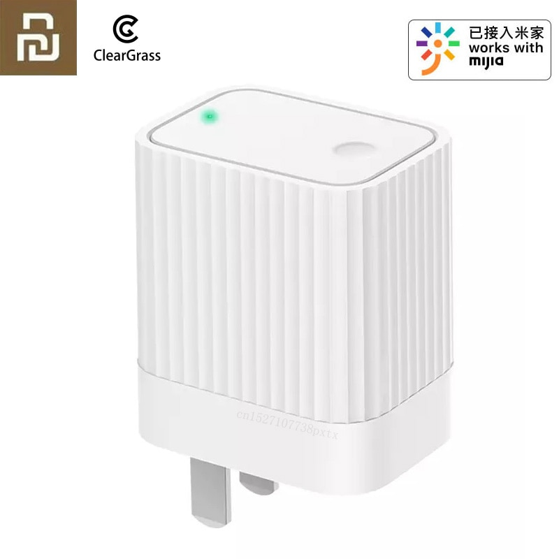 Youpin Cleargrass Smart Bluetooth/Gateway Wifi Hub funciona con Mijia Bluetooth Sub-Dispositivo inteligente para el hogar