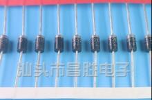 Xinyuan – redresseur de barrière, 10 pièces/lot, SB5200 MBR5200 = MBR520 SR5200 Schottky, Diode 5A 200V DO-201AD/DO-27