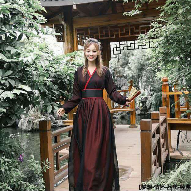 Ancient Chinese Cosplay Costume Antique Style Chinese Clothing Women Hanfu Clothes Lady Stage Dress Hanfu National Costume недорого