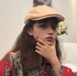 Japanese Men's Hat Berets Driving Sun Flat Cap Fashion Suede Berets Caps For Women Casual Peaked Hat Visors Casquette Lvy Gorro