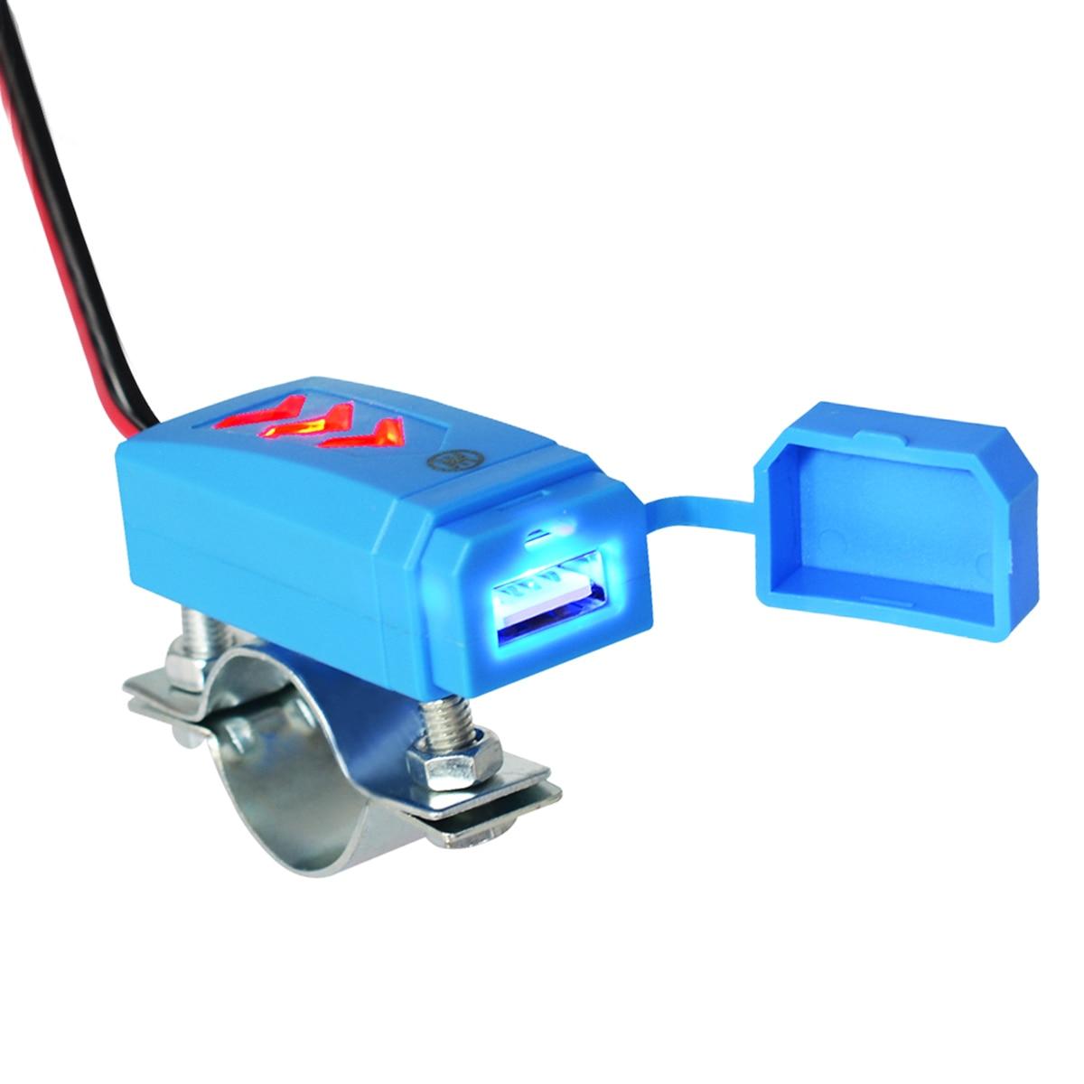De alta calidad de 12-24V impermeable de la motocicleta cargador USB para...