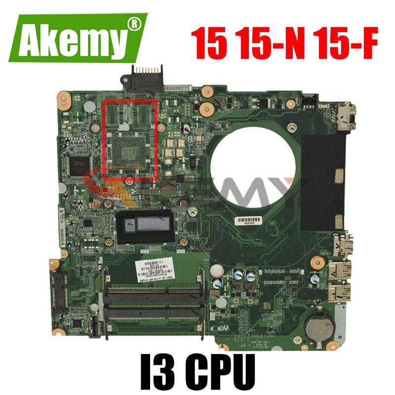 790202-501 782103-501 732087-501 لإتش بي جناح 15 15-N 15-F U83 اللوحة المحمول DA0U83MB6E0 W/ I3 CPU DDR3L 100% اختبار بالكامل