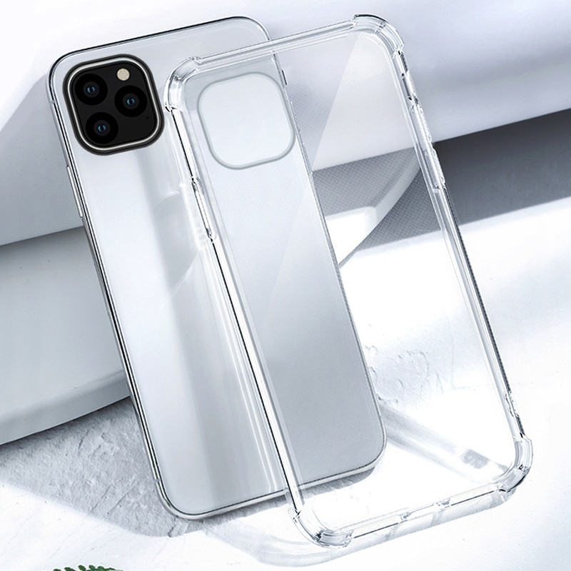 for iphone 11max pro case 11 promax clear Cover 11 pro max i phone 11promax ip iph 11pm bumper Simple Protective Funda Coque