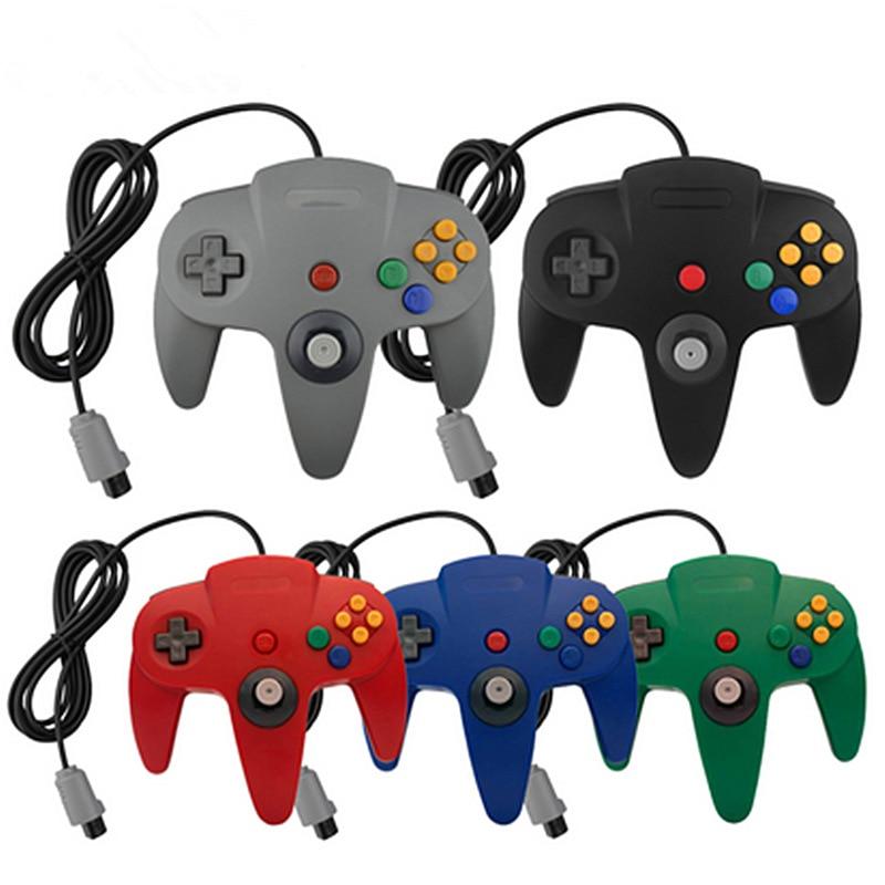 14 cores para n64 controlador joystick n64 jogo handrip presente controle
