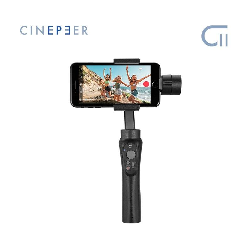 CINEPEER C11 Handheld Gimbal Stabilizer for Smartphone 3-Axis Vlog Gimbal Powered by ZHIYUN VS Osmo Mobile 3