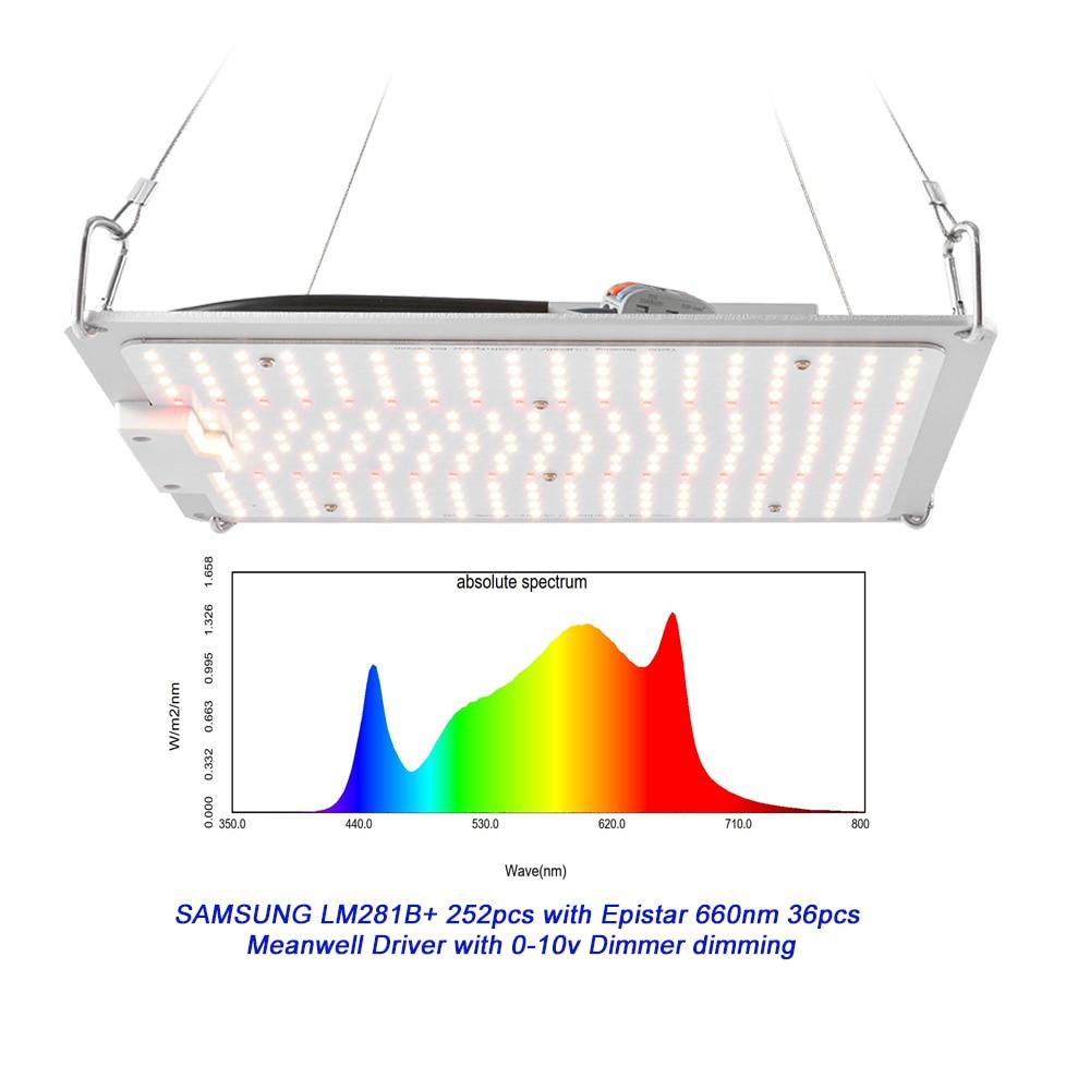 Yastar DIY LED Grow light 288 120W Samsung LM301H Epistar 660nm grow light full spectrum enlarge