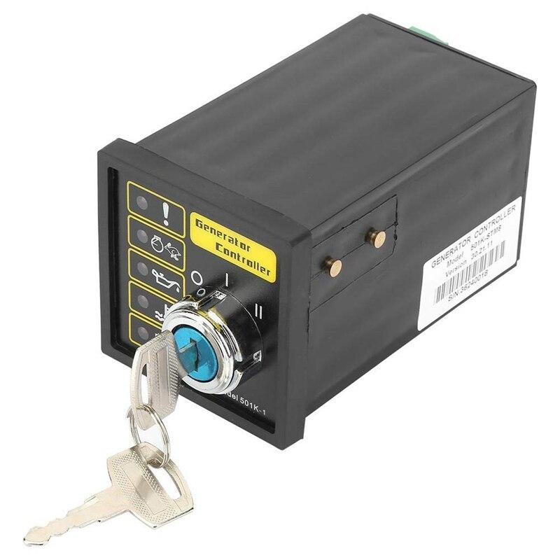 Controlador de generador superior AAAE, resistente, duradero DSE501K DC 9-33V 15-305V AC, controlador electrónico, módulo de inicio, Control P