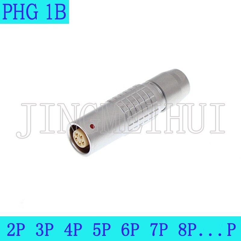 1b phg 2/3/4/5/6/7/8/10/12/14/16/18/19/26/32 p tomada livre cabo elétrico circular push pullauto conector de baixa tensão
