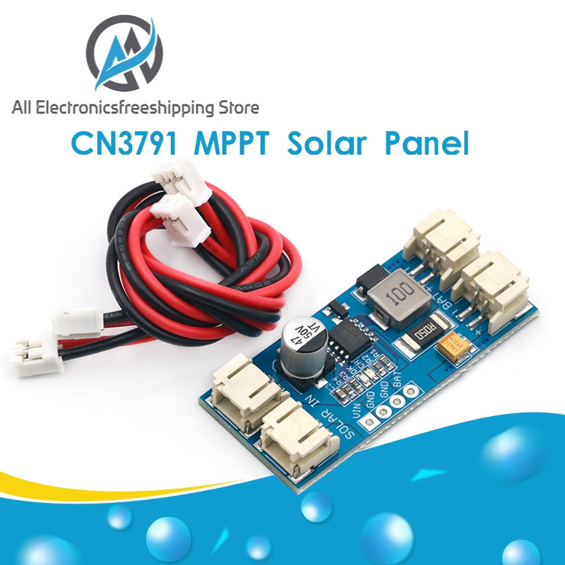 1 Mobiele Lithium Batterij 3.7V 4.2V CN3791 Mppt Zonnepaneel Regulator Controller Zonnepaneel Charger Board Controller module Zonnepaneel    -