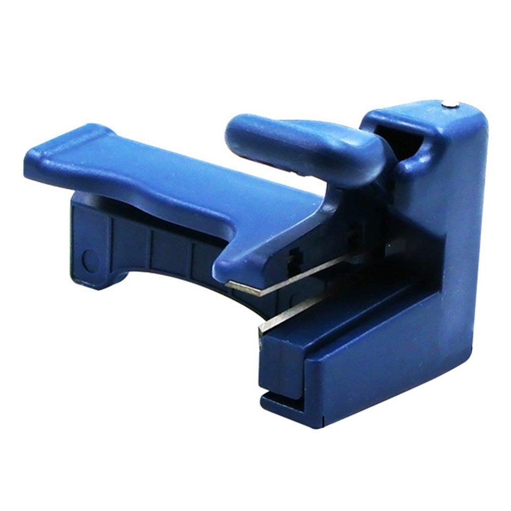 Cortador de flexión de borde Manual, recortadora de doble filo, máquina de bandas Manual, equipo de carpintero para corte de cabeza y cola de madera