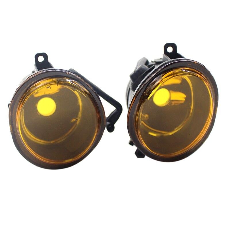 01-06 para-Bmw E46 para-Bmw E39 amarillo par de lentes parachoques antiniebla lámpara de repuesto