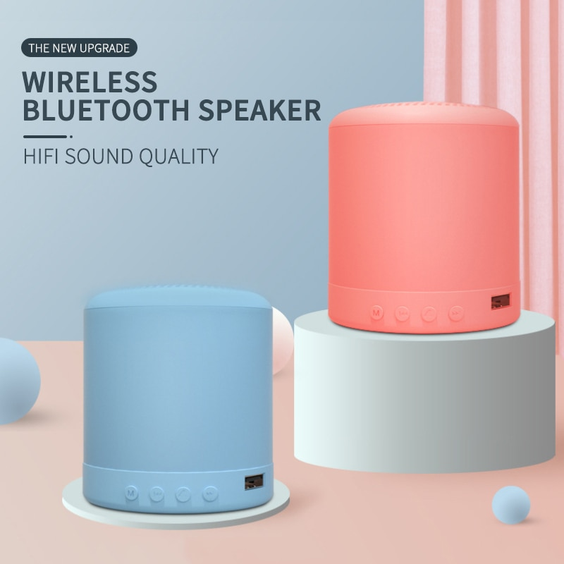 Wireless Speaker Mini Smart Bluetooth Speaker Portable Bluetooth+FM MP3 Speaker Recharge High Quality Music Subwoofer Stereo