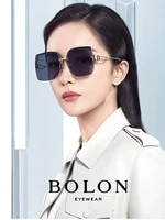 bolon 2021 spring new gradient color sunglasses for women uv400 premium quality dark sunglasses bl7138