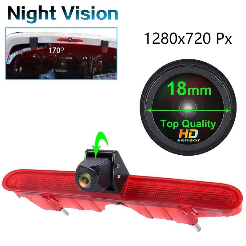كاميرا وقوف السيارات مع ضوء الفرامل ، وكاميرا الرؤية الخلفية الثالثة ، لبيجو بارتنر 2 Tepee Rifter Citroen Berlingo 3 4 B9 Kasten