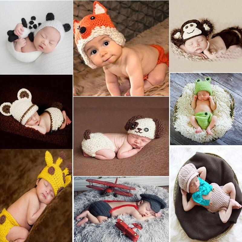 10 видов стилей для новорожденных, рост ребенка Подставки для фотографий Животные мультфильм фото костюмы память