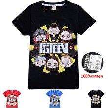 2020 Youth Boy Tshirt Fgteev 가족 게임 T 셔츠 여성용 T 셔츠 Big Boys 반소매 티셔츠 Children Cotton Funny T