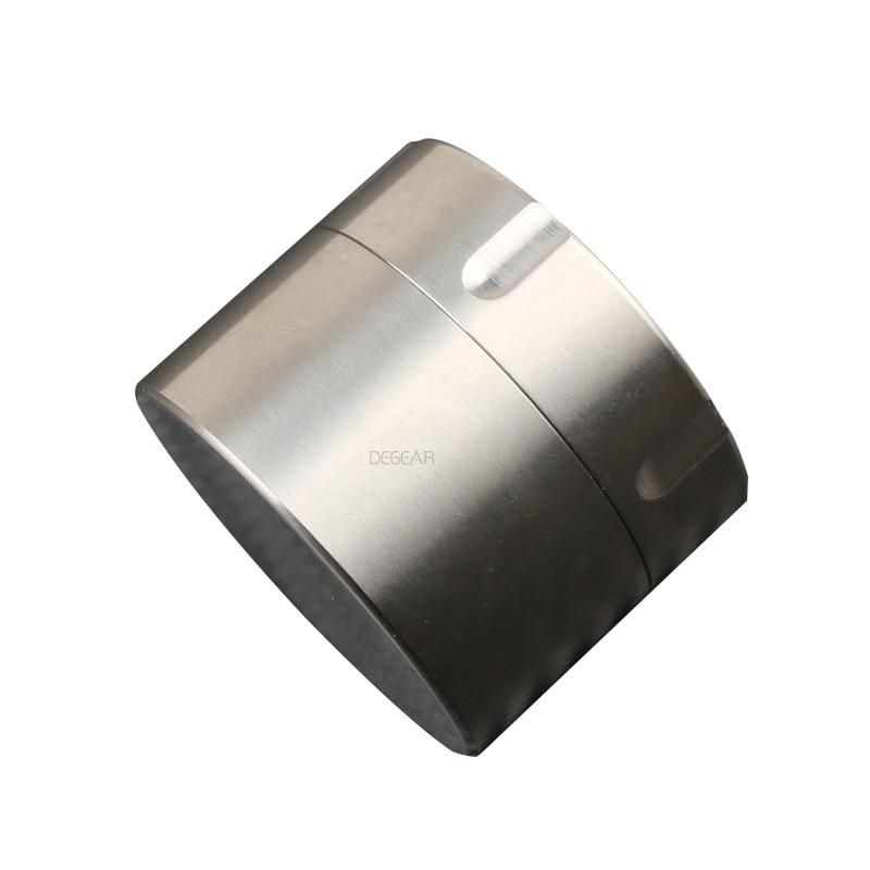 Titanium Alloy Small Waterproof Container Health Metal Pill Medicine Bottle Waterproof Storage Tank Box Gift Tea Pot