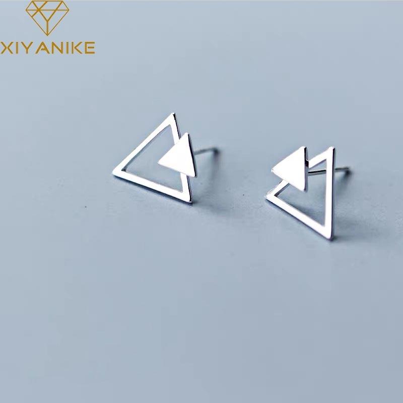 Женские-Треугольные-Серьги-гвоздики-xiyanike-простые-геометрические-серьги-из-стерлингового-серебра-925-пробы-элегантные-свадебные-украшения