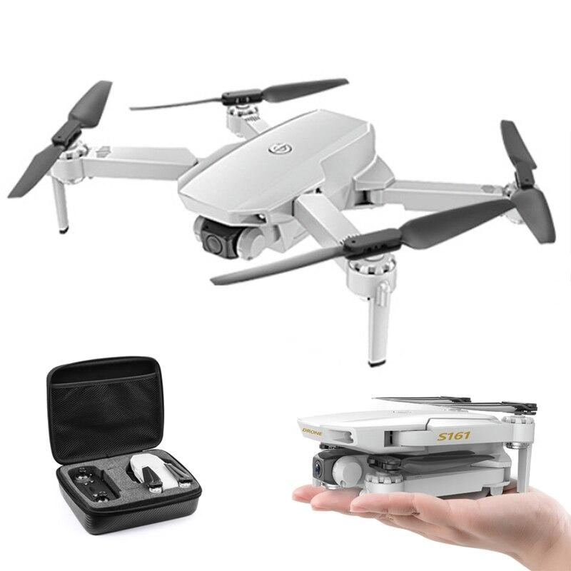 S161 Drone 4k Hd podwójny aparat Wifi Fpv 2.4ghz Quadcopter drony sterowanie gestami zdjęcie przepływ optyczny zdalnie sterowany Mini dron VS XS816 SG907